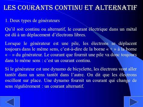 Courant Continu Et Alternatif 5330 by Le Courant Alternatif Ppt T 233 L 233 Charger