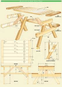 Canadian Woodworking Magazine Download by Kid S Picnic Table Canadian Home Workshop