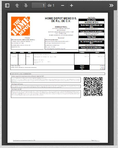 mexico factura electronica home depot the home depot facturacion 28 images ayuda the home