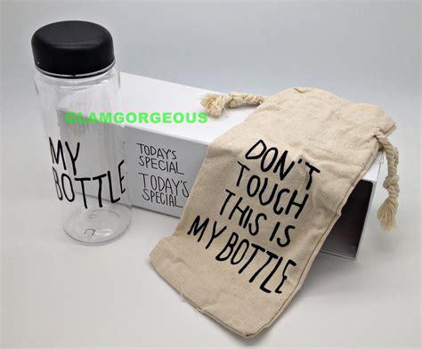 My Bottle Glossy Botol Minum Putih jual my bottle infused water botol minum bahan plastik