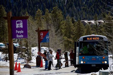 keystone resort   address parking woes  weekends