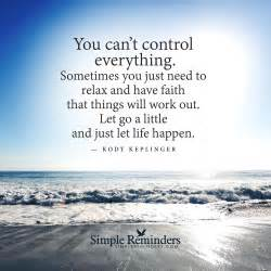 You cannot control everything by kody keplinger with article by silvia