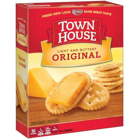 keebler town house crackers, original, 13.8 oz walmart.com