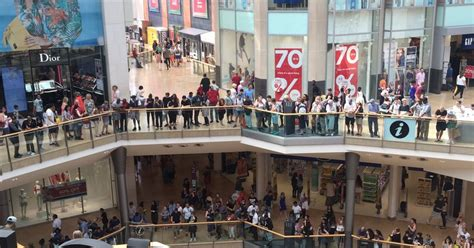 Cq Live Birmingham Hm Bullring Centre by Birmingham Bullring Evacuated After Falls From Top