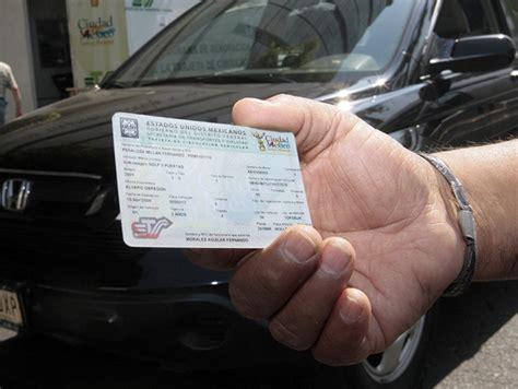 renovacion de tarjeta de circulacion solidaridad el pago para renovar la tarjeta de circulaci 243 n y la