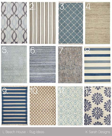 beachy rugs favorite rugs for a house k designs