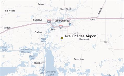 louisiana map airports lake charles airport weather station record historical