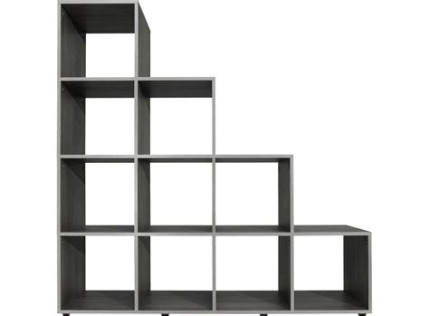 etagere 9 cases fly etagere escalier 10 cases gris fly