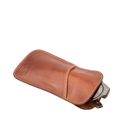 Number Of Blind People The Rufeno Slim Leather Glasses Case For Men And Women