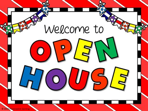 how to do an open house open house school clipart google search beginning of