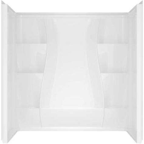 Home Depot Bathtub Surround by Bathtub Walls Surrounds Bathtubs The Home Depot