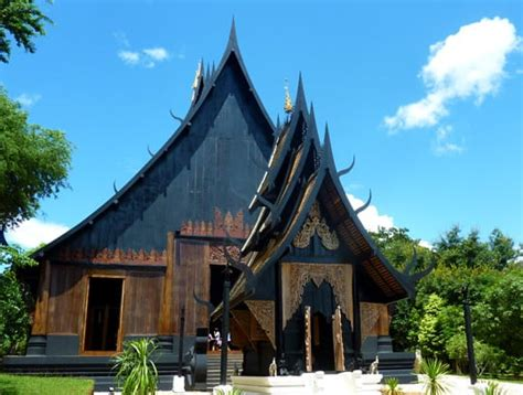 the black house the black house white temple heaven vs hell in chiang rai thailand