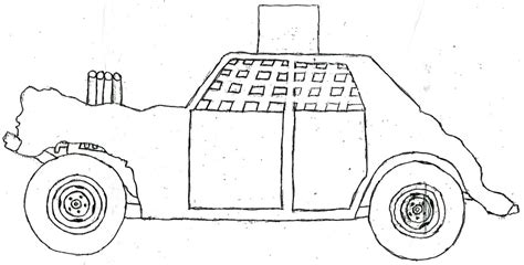 derby car coloring page demolition derby car clipart 16