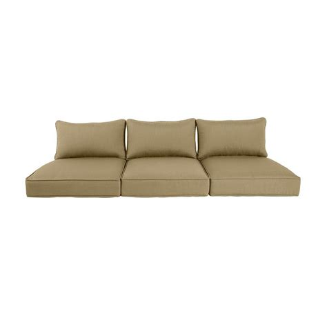 Outdoor Sectional Sofa Replacement Cushions by Brown Highland Replacement Outdoor Sofa Cushion In
