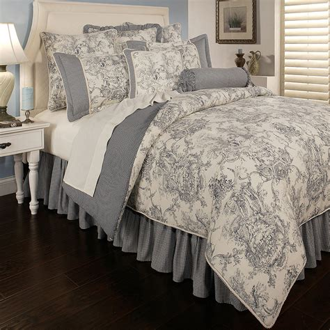 toile comforter sets queen toile bedspreads french country teen bedroom with toile