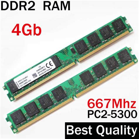 Ram Ddr2 2 Giga ram 4gb ddr2 667 ddr2 667mhz ddr2 ram 4gb for amd for all memoria ddr2 4gb ram pc pc2 5300