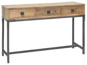 baylor 3 drawer console table modern side tables and