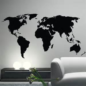 wall sticker map of the world world map wall decal sticker world from happy wallz wall