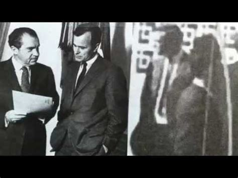 is there evidence geo. hw bush killed jfk? yes. here