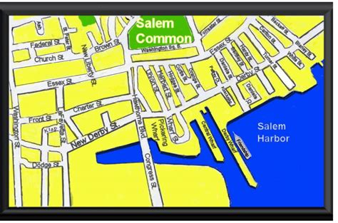 salem usa map map of salem ma bnhspine