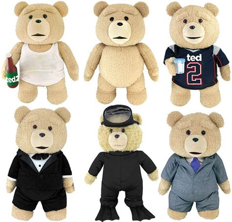 ted donald doll ted 2 teddy plush says quotes l7 world