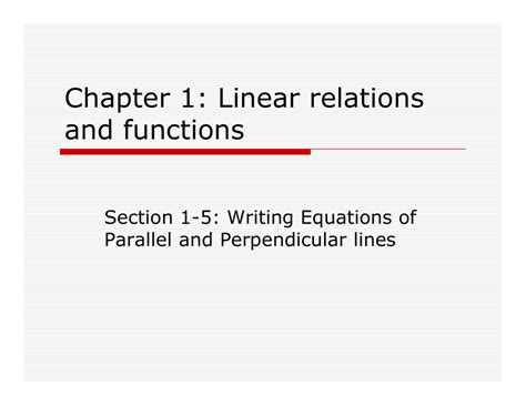 Writing Equations Of Parallel And Perpendicular Lines Worksheet by Equations Of Parallel And Perpendicular Lines Worksheet