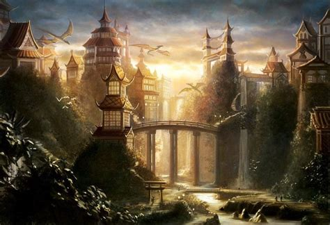 film fantasy fantastique paysages fantastique