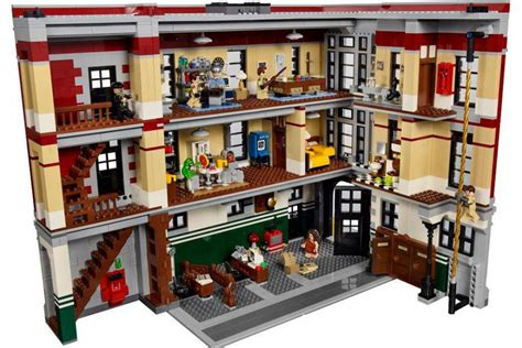 lego ghostbusters house lego ghostbusters feuerwehr hauptquartier 75827 offizielle set bilder des