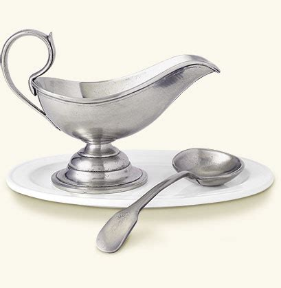 gravy boat with spoon match pewter gravy boat with spoon set