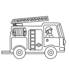 firetruck coloring page printable truck coloring pages coloring me