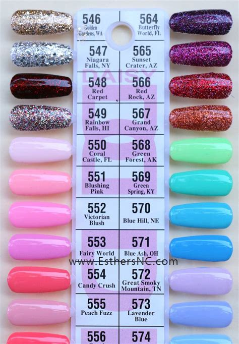 gel color dnd gel duo nail color swatches in 2019