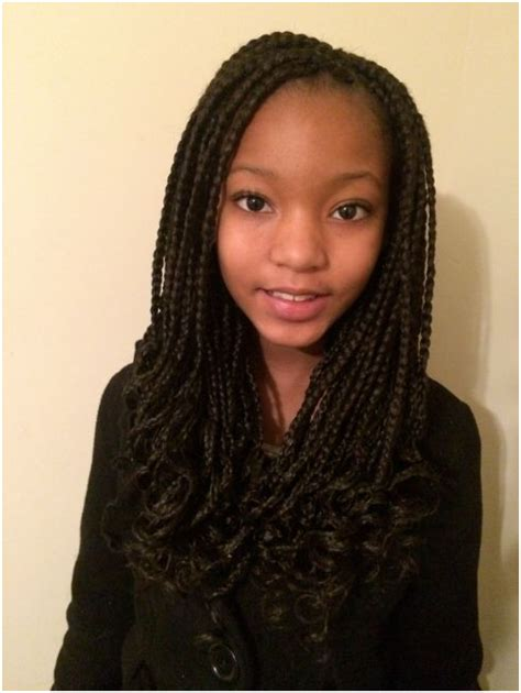 old box braids 40 pretty fun and funky braids hairstyles for kids