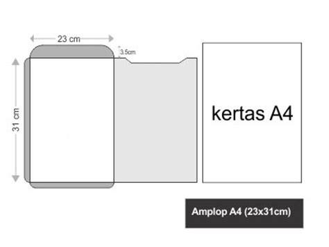 layout perkantoran tertutup amplop a4 23x31cm percetakan jogja