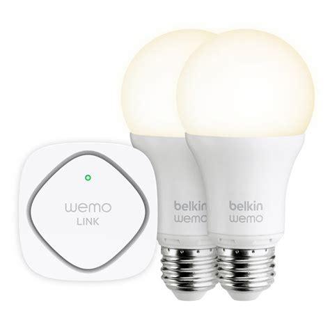 Wemo Light by Belkin Wemo Led Lighting Starter Set Is Finally Shipping