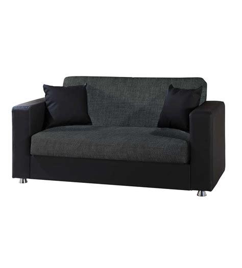 divani in ecopelle offerte divano letto modello quot ermes quot a 2 posti in tessuto grigio