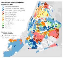 us ethnic background map nyc election atlas maps