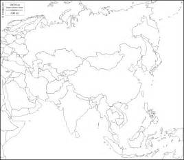 Asia Outline Map by Pics Photos Free Blank Outline Map Asia