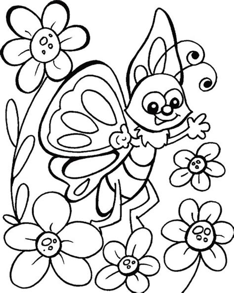 coloring pages for kites happy butterfly coloring pages for kids fofuras