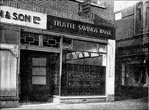 trustee saving bank rushden research trustee savings bank