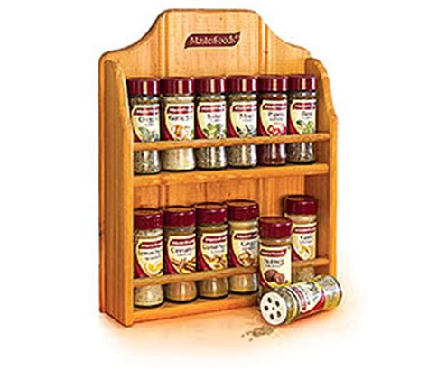 Masterfood Spice Rack masterfoods spice rack with spices