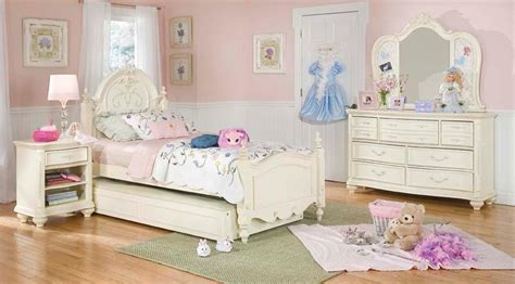 girls bedrooms sets lea jessica mcclintock romance pc vintage look girls