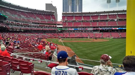 great american ballpark section 135 great american ball park section 139 cincinnati reds
