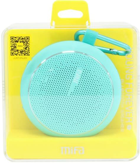 Speaker Xiaomi Mifa xiaomi mifa outdoor bluetooth speaker blue