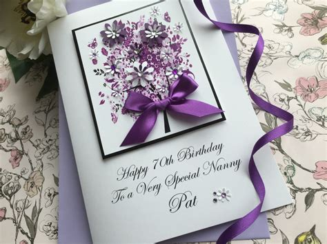 Handcrafted Birthday Cards - luxury handmade birthday cards by pinkandposh co ukpink posh