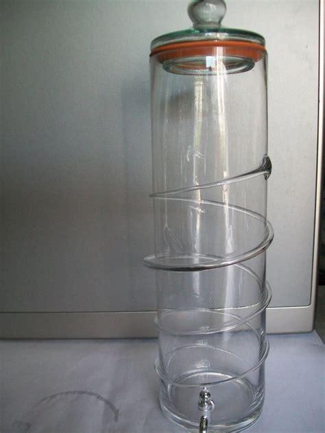 contenitori con rubinetto contenitore vetro lt 4 con rubinetto enotecnica albese