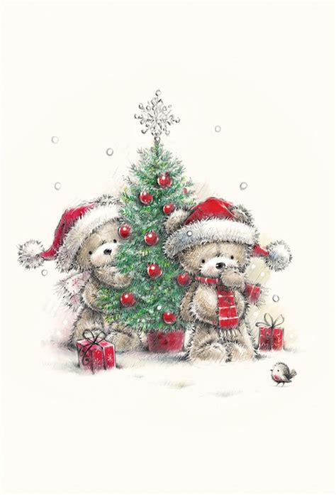 images  tatty teddy  pinterest manualidades cute bears  merry christmas