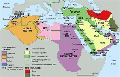 middle east map pre world war the middle east world history two