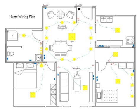 electrical layout plan of residential building pdf home wiring plan software making wiring plans easily
