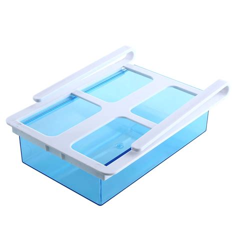 Slide Shelf by Slide Kitchen Fridge Freezer Space Saver Storage Rack