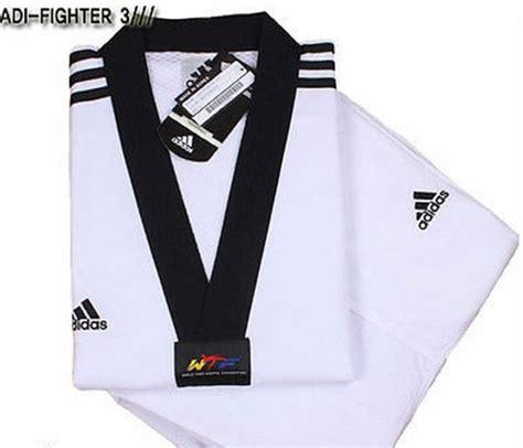 adidas adi fighter new 3 stripe taekwondo dobok tae kwon do tkd